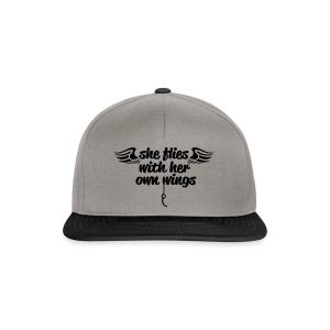 She flies... - Snapback Cap
