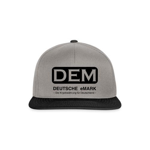 DEM - Deutsche eMark - Snapback Cap