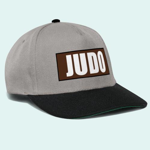 Judo Braun 1. Kyu - Snapback Cap