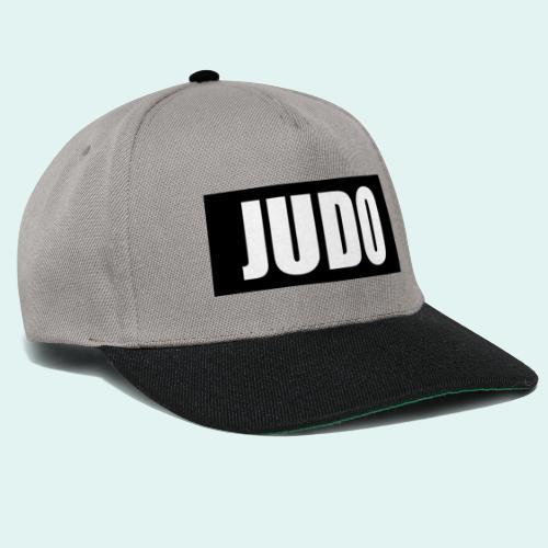 Judo Schwarz DAN - Snapback Cap