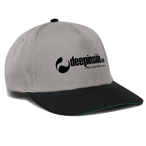 DEEPINSIDE World Reference logo black - Snapback Cap