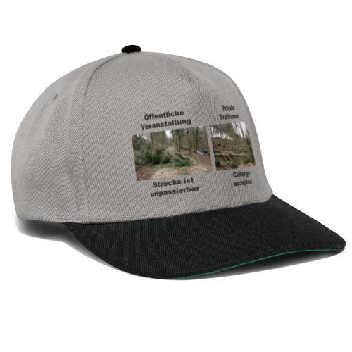 Trailrun Challenge - Snapback Cap