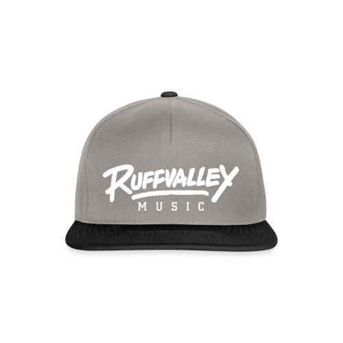 Ruffvalley Trans White png - Snapback Cap