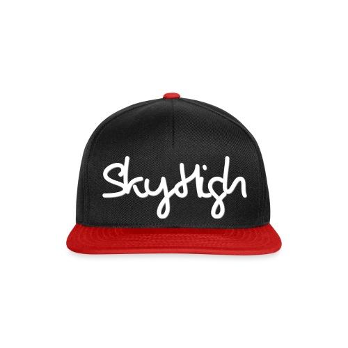 SkyHigh - Women's Hoodie - White Lettering - Snapback Cap