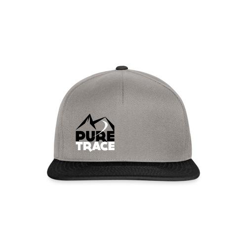 Logo-PURE_TRACE-webN&B-sq - Casquette snapback