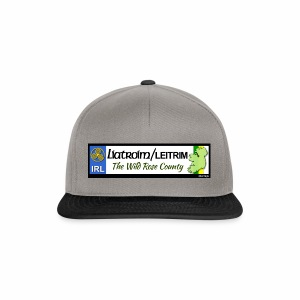 LEITRIM, IRELAND: licence plate tag style decal eu - Snapback Cap