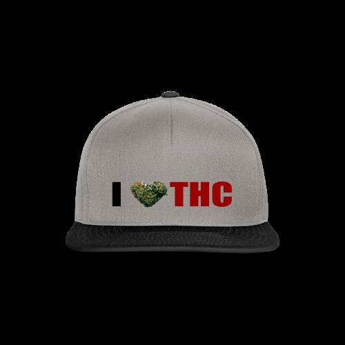 I love THC - Snapback Cap