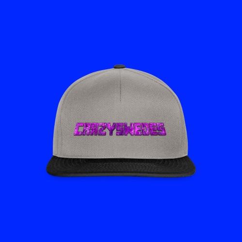 CrazySwedes PurpleThunder - Snapbackkeps
