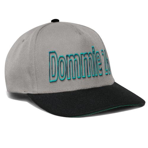 dommie 26 TEXT NAME - Snapback Cap