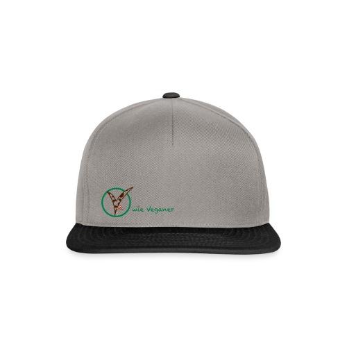 V wie Veganer - Snapback Cap