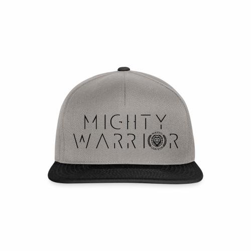 416_mighty_worrior - Snapback Cap