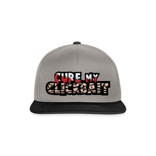 Cure My Clickbait Logo - Snapback Cap