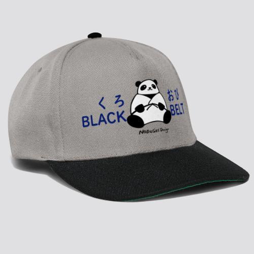 Black Belt Panda - Snapback cap