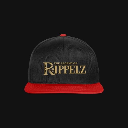 Rippelz - The Legend of Rippelz (Schriftzug only) - Snapback Cap