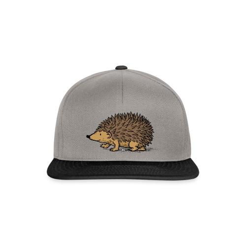 egel illustratie - Snapback cap