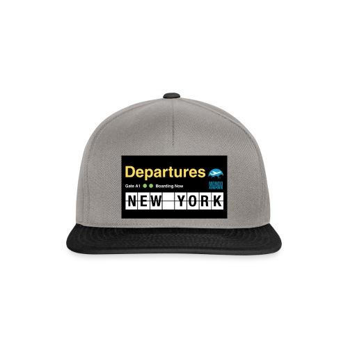 Departures Defnobarre 1 png - Snapback Cap
