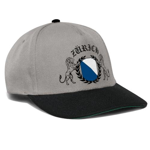 ZÜRICH LOGO FINAL BLCK - Snapback Cap