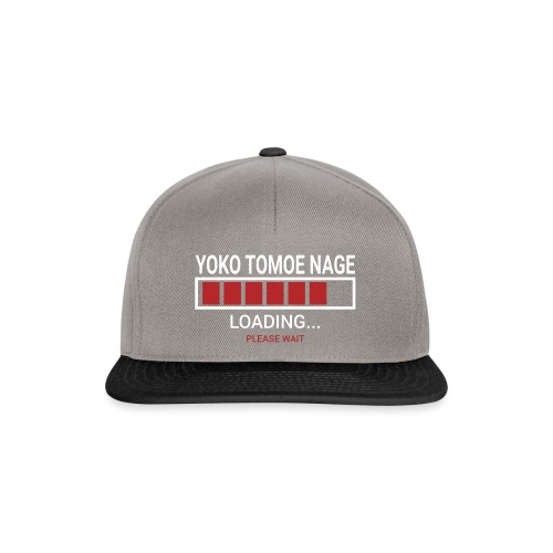 Yoko Tomoe Nage loading... pleas wait - Czapka typu snapback