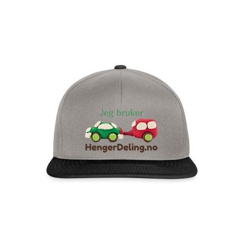Jeg bruker HengerDeling.no - Snapback-caps