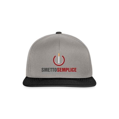 Smetto Semplice - Snapback Cap