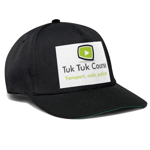 Logo tuk tuk course - Casquette snapback