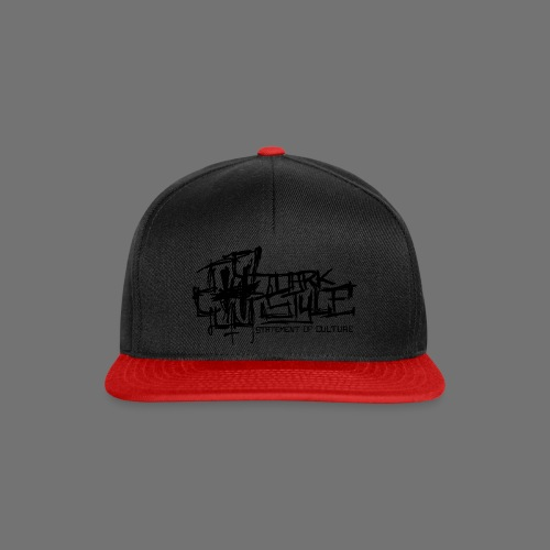 Tumma Style - Statement of Culture (musta) - Snapback Cap