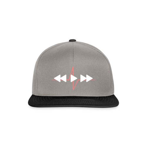 Live with music - Snapback Cap