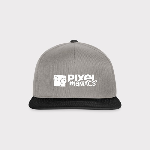 PM Logo (White) - Snapback Cap