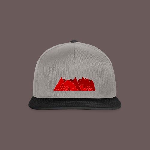 Simplistic Mountains - Snapback Cap