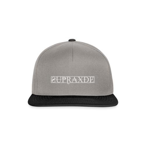 SupraxDE Logo Weiß - Snapback Cap