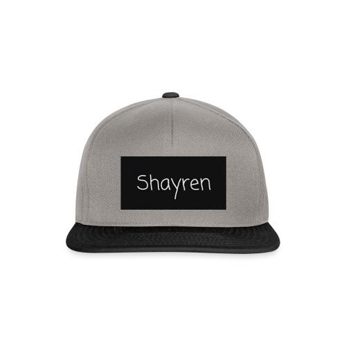 Shayren t-shirt - Snapback cap