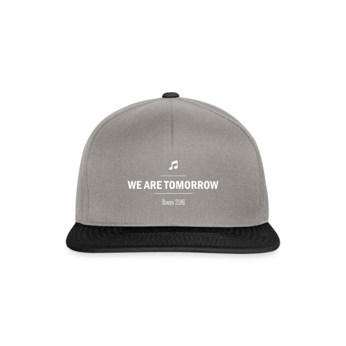 We Are Tomorrow White - Casquette snapback