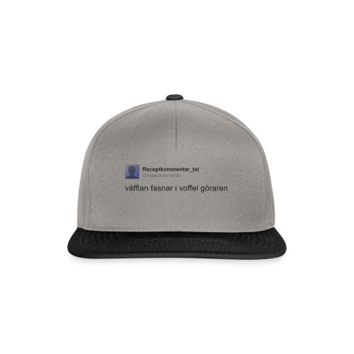 Voffel goraren - Snapbackkeps