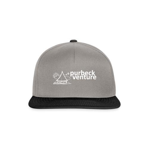Purbeck Venture Sleepy white - Snapback Cap