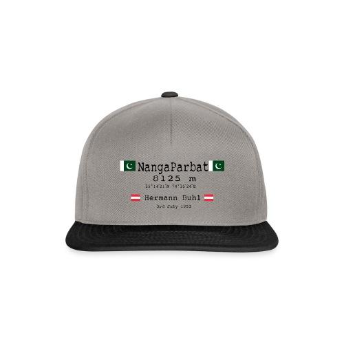 NangaPArbat20-01Black - Snapback Cap