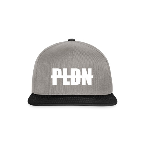 PLDN weiss - Snapback Cap
