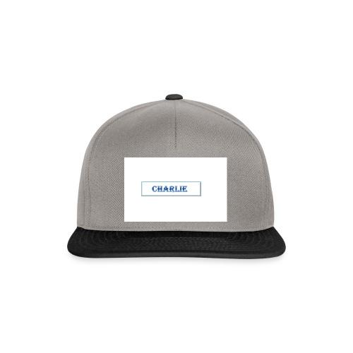 Charlie - Snapback Cap