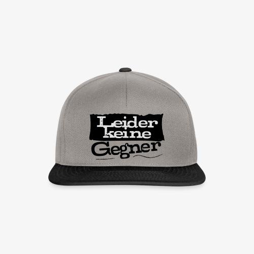 LeiderkeineGegner - Snapback Cap