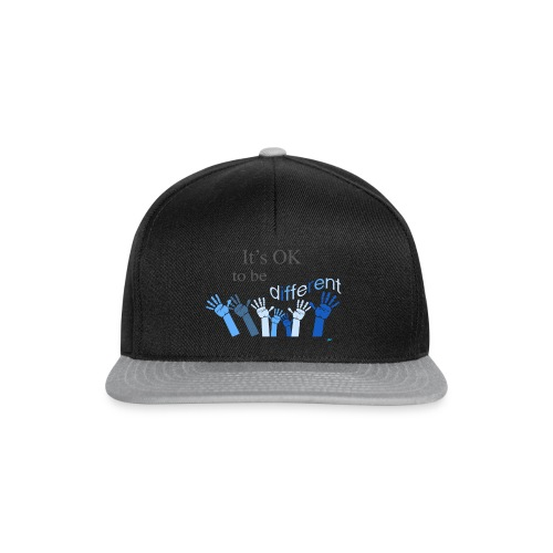 Its OK to be different - Czapka typu snapback