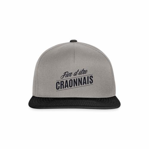 Fier d'être Craonnais - Craon - Casquette snapback