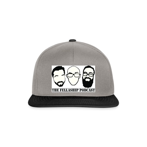 The Fellaship podcast logo - Snapback Cap