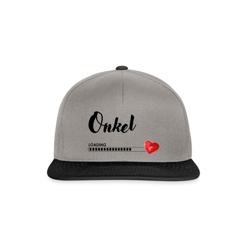 Onkel is loading - Snapback Cap
