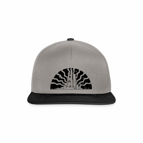 Fairytale Castle Sunrise - Snapback Cap