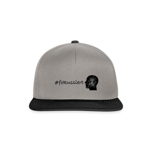 Fokussiert Fitness Shirt - Snapback Cap
