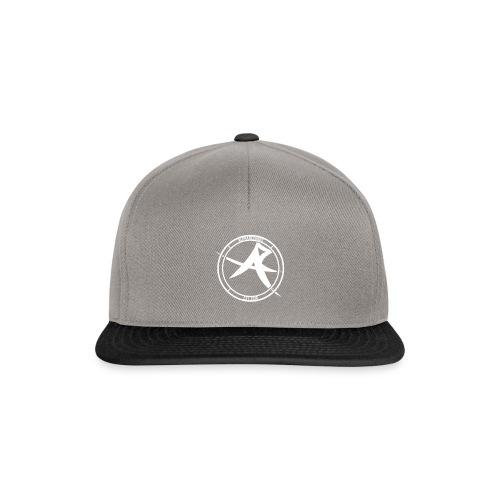 ALPHA Logo white - Snapback Cap