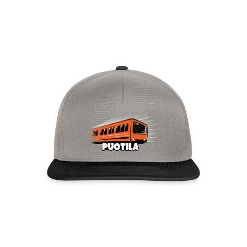 03-PUOTILAN METRO - Tekstiilit ja lahjat - Snapback Cap