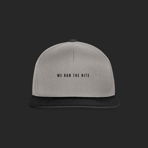 WE_RUN_THE_NITE - Snapback Cap