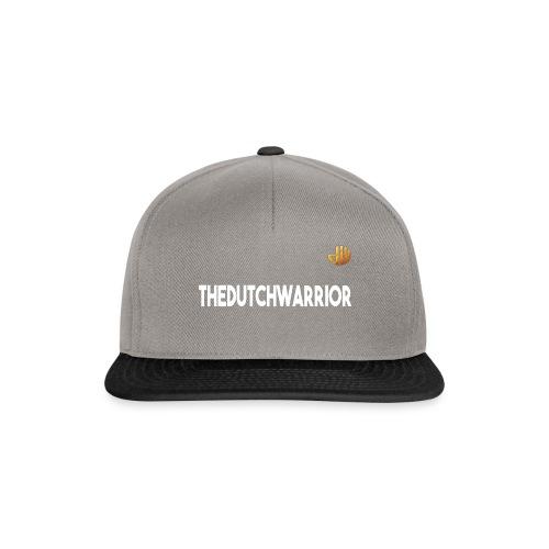 TheDutchWarrior_met_logo - Snapback cap