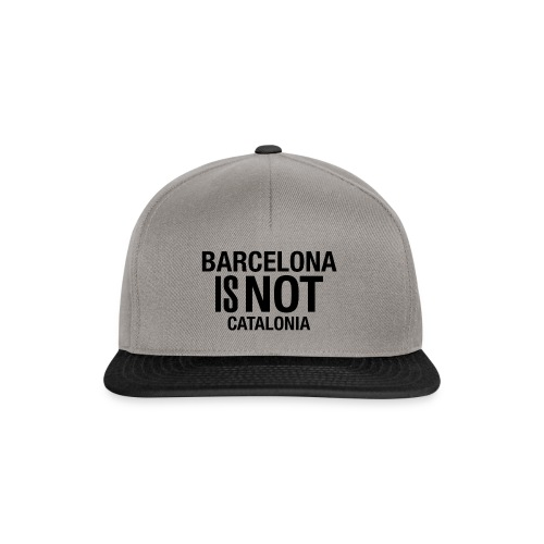 BARCELONA IS NOT SPAIN - Gorra Snapback