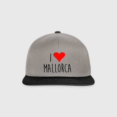 ❤ kocham Mallorca - Czapka typu snapback